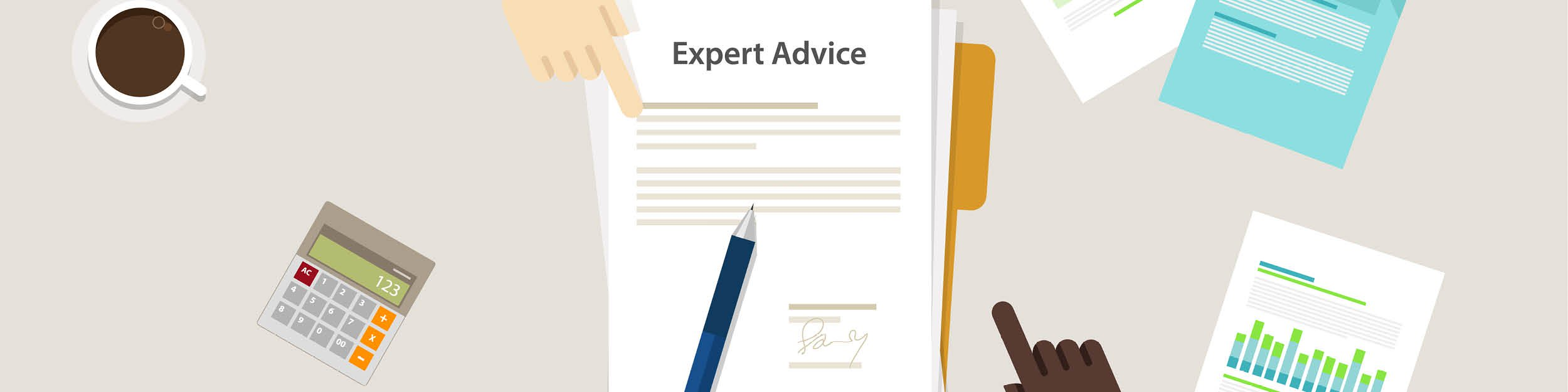 Expert advice paper pen