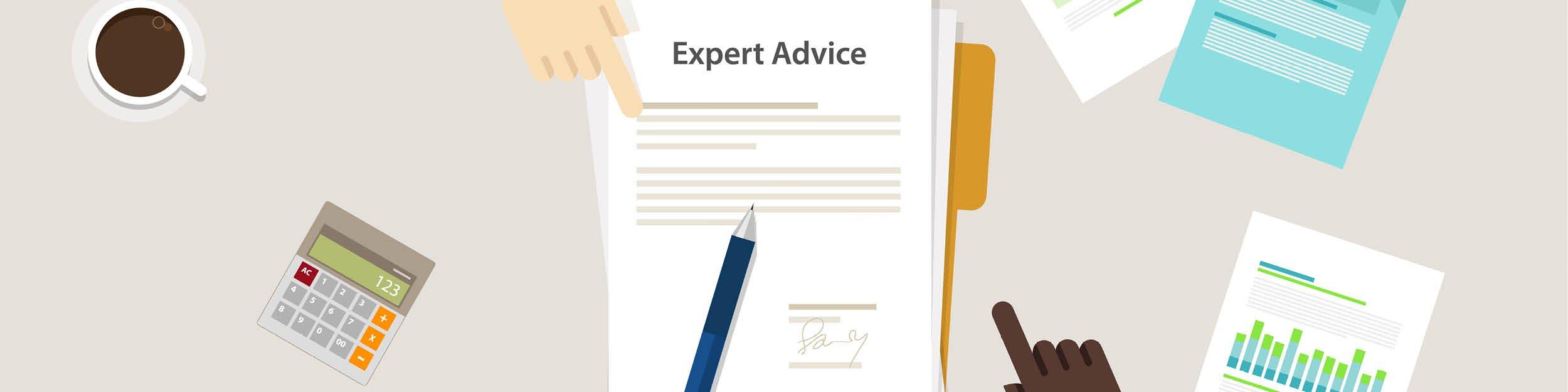 Expert advice paper pen